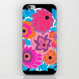 CAMBRIA, ART DECO FLORALS: HANALEI BAY iPhone Skin