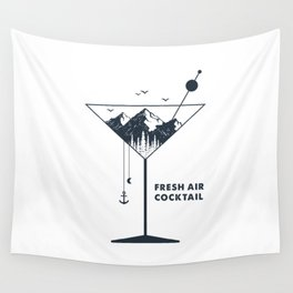 Fresh Air Cocktail Wall Tapestry