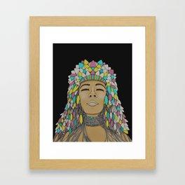 FR/US - #004 Framed Art Print