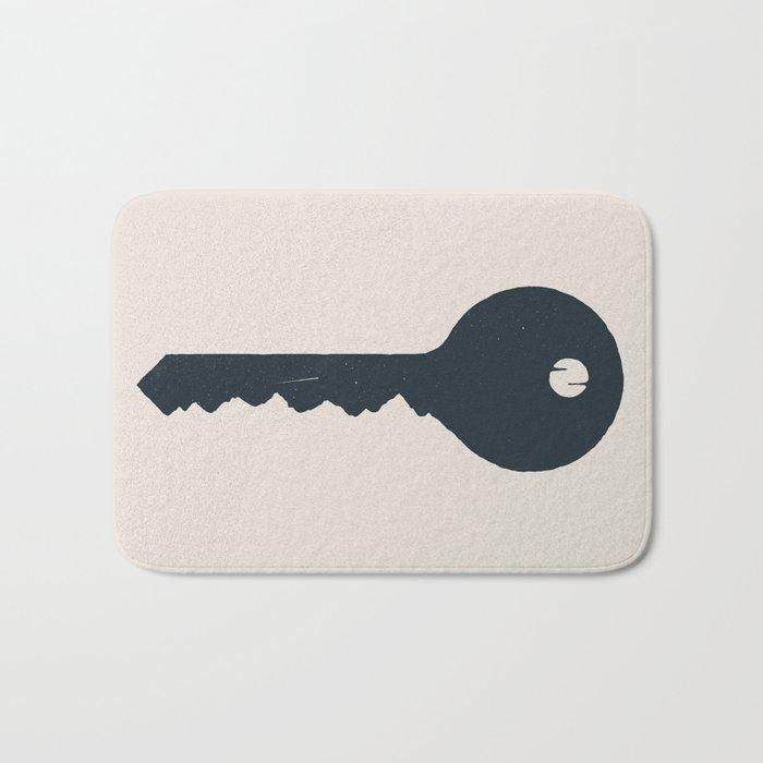 The key of the Mountain Bath Mat