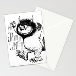 I'll Eat You Up I Love You So Stationery Cards