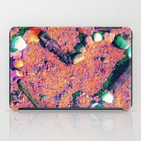 west coast iPad Cases featuring West Coast Heart by Angela Pesic