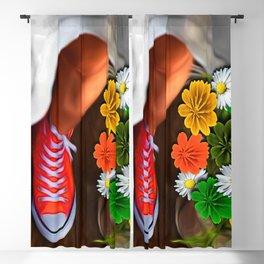 Dress Shoes Blackout Curtain