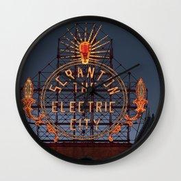 Scranton Electric City Wall Clock