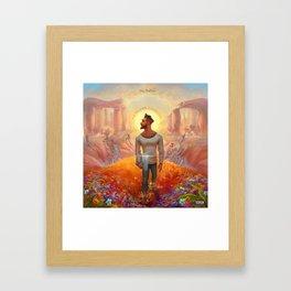 jon bellion human condition 2019 simukasama Framed Art Print