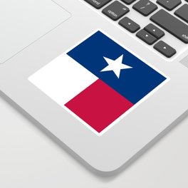State flag of Texas, official banner orientation Sticker