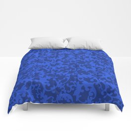 Sapphire Ornamentation Comforters