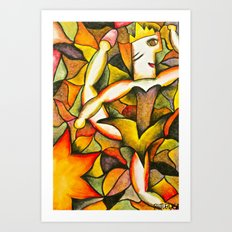 Dancer- Change of Season  Art Print