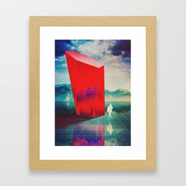 It Doesn't Matter Framed Art Print