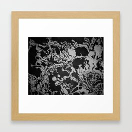 Every Thing Eats Every Other Thing Framed Art Print