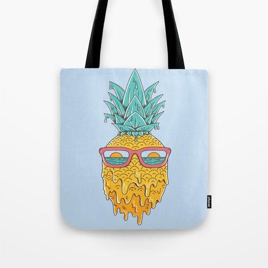 Pineapple Summer Tote Bag