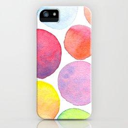 Blending Bubbles iPhone Case