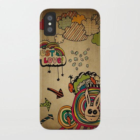 Just Love! iPhone Case