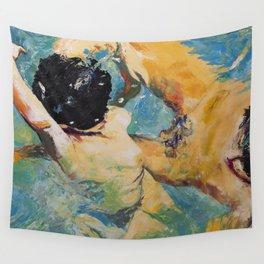 Underwater attaching II Wall Tapestry