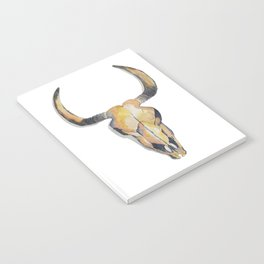 Cow Skull Notebook