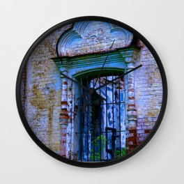 Window The Ensemble of the Monastery of Deposition of the Robe (16th - 20th centuries) Wall Clock