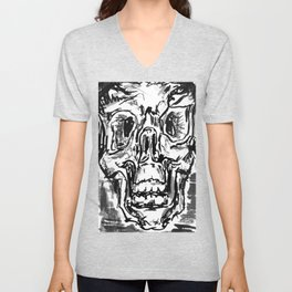 Skulls Unisex V-Neck
