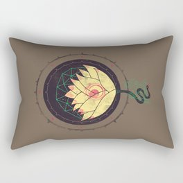 Lotus Rectangular Pillow