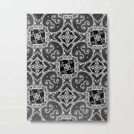 Victorian Candy Cane Wallpaper #1 Metal Print
