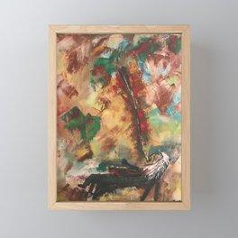 Agony Framed Mini Art Print