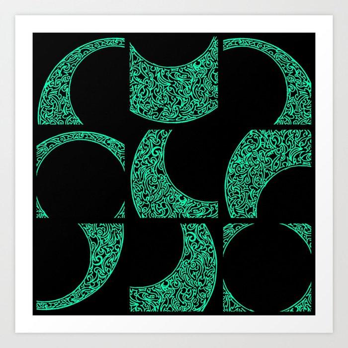 Emerald Solstice Art Print