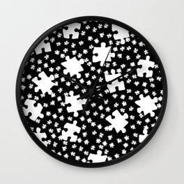 DT PUZZLE SCATTER 10 Wall Clock
