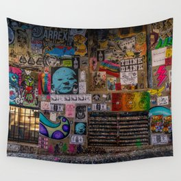 Post Alley Wall Tapestry