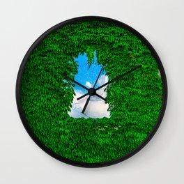 Bird's Window Wall Clock