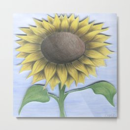 Stacy's Sunflower Metal Print