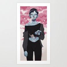 hideho Art Print