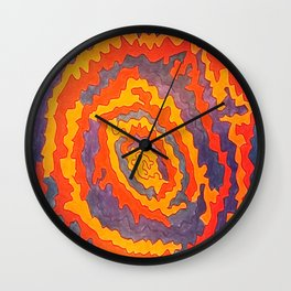 Magnitude Magnetism II Wall Clock