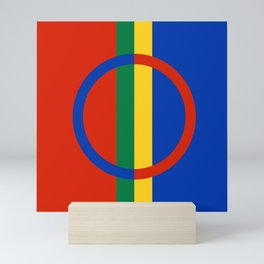 Flag of Sami Mini Art Print