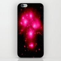 constellation iPhone & iPod Skins featuring constellation : 7 Sisters of Pleaides by 2sweet4words Designs