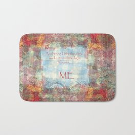 Boho - Out of the Darkness Bath Mat