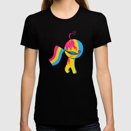 Pansexual Pride Mad!Sup Guy T-shirt