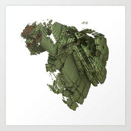 Borg Heart Art Print