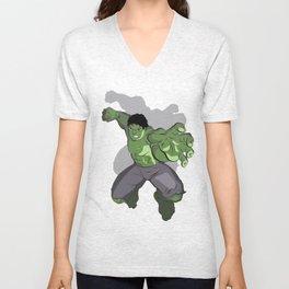 Green Masa Unisex V-Neck