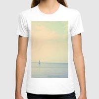 sail T-shirts featuring Sail  by Sam Medakovic