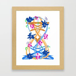 Abstract Garden #3 Framed Art Print