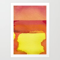 color field one Art Print