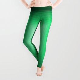 Green Square Gradient Leggings