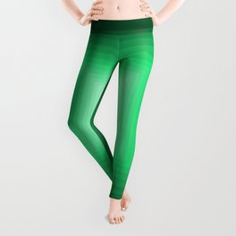Green Square Gradient Leggings