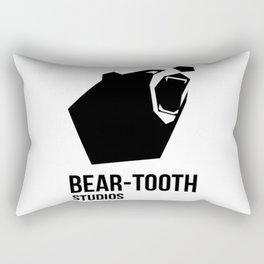 Bear-Tooth Logo Rectangular Pillow