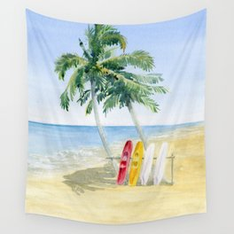 Tropical View Wall Tapestry