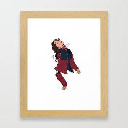 Spliced Framed Art Print