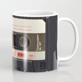 Retro 80's objects - Compact Cassette Coffee Mug