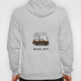 A Trabbi in Berlin Hoody