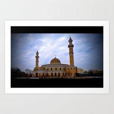 Islamic Cultural Center Art Print
