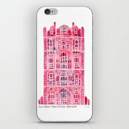 Hawa Mahal – Pink Palace of Jaipur, India iPhone Skin