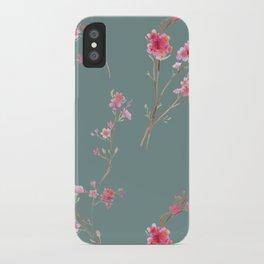 2016 Calendar Print - Cherry Blossoms iPhone Case